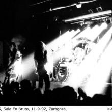 Las Novias - En Bruto, Zaragoza, 11-09-92 © Ainhoa Tilve