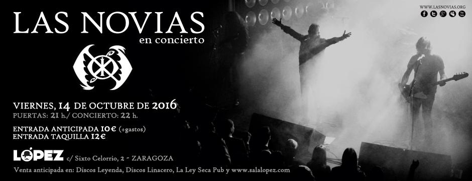 Las Novias - Sala López 14-10-16