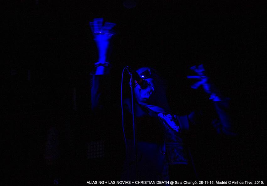 LAS NOVIAS @ Sala Changó, 28-11-15, Madrid © Ainhoa Tilve, 2015.