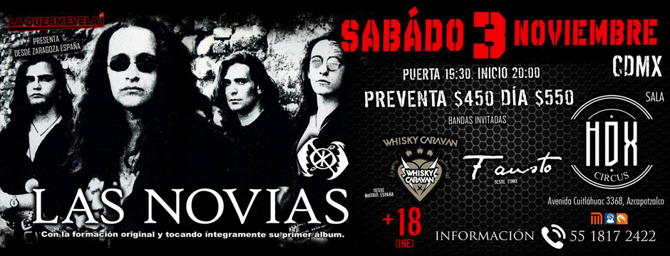 Las Novias 3-11-18 México DF