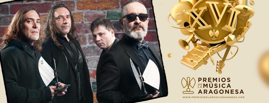 Mejor Grupo y Mejor Directo 2014 en los XVI Premios de la Música Aragonesa