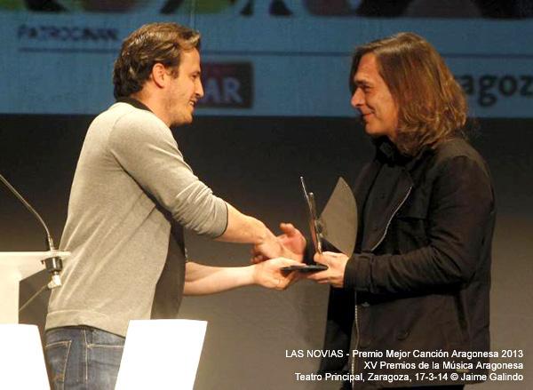 Premio Mejor Canción Aragonesa 2013 © Jaime Galindo