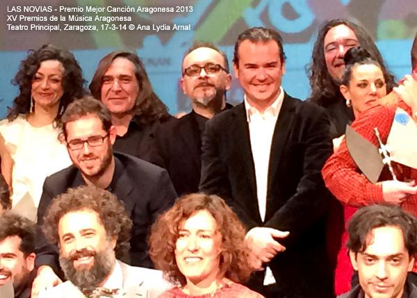 Premio Mejor Canción Aragonesa 2013 © Ana Lydia Arnal