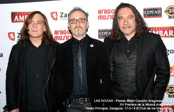 Premio Mejor Canción Aragonesa 2013 © Club de los Imposibles