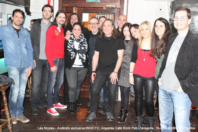 Audición exclusiva 'Invicto', Alquimia Café Rock Pub, Zaragoza, 15-3-14 © BBC Fotógrafos