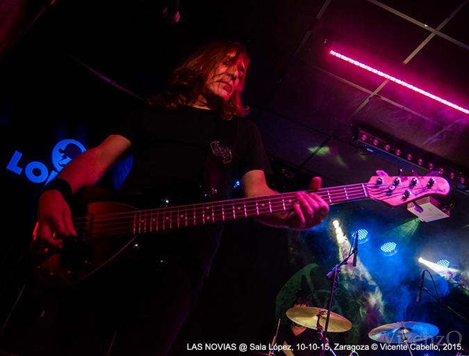 LAS NOVIAS @ Sala López, 10-10-15, Zaragoza © Vicente Cabello, 2015.
